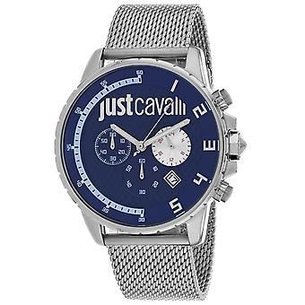Just Cavalli Men's Sport Blue Dial Watch - JC1G063M0275