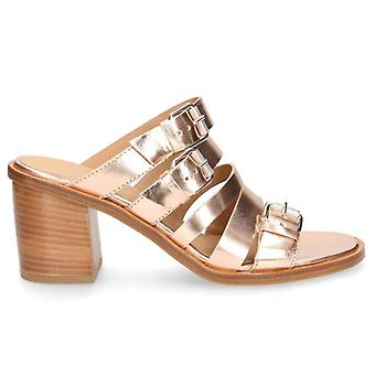 Janet & Janet Norberta Copper Heeled Slippers