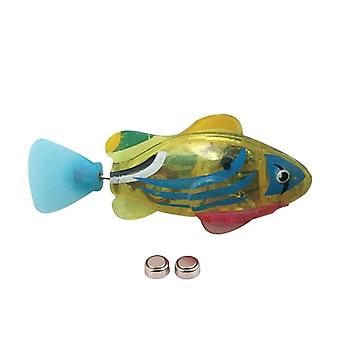 Funny Swim Electronic Fish Toy Activé Batterie Powered Pet For Fishing Tank