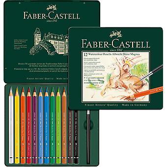 فابر كاستيل ألبريخت دورير ماغنوس أقلام الرصاص الألوان المائية 12 القصدير