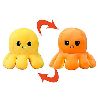YANGFAN Flip Reversible Plush Octopus Toys Doll