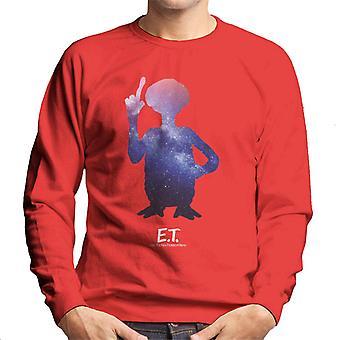 E.T. Silueta Galáctica Hombres's Sudadera
