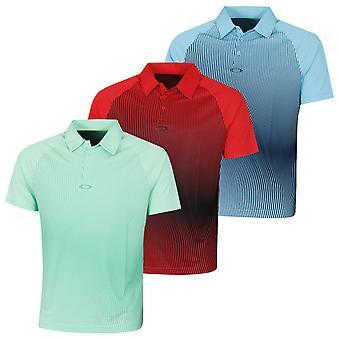 Oakley Mens Dynamic UV Protection Breathable Golf Polo Shirt