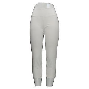 Kvinder med kontrol kvinder's Bukser Regelmæssig Crop Hvid A307763
