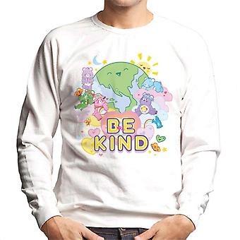 Care Bears Unlock The Magic Be Kind On Earth Men's Sweatshirt
