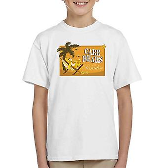 Care Bears Funshine Bear In Paradise Kid's T-paita