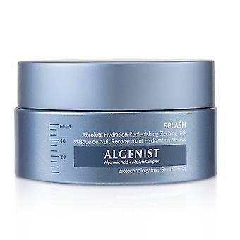 Algenist SPLASH abszolút hidratáció feltöltése Sleeping Pack 60ml/2oz