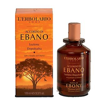 Agreement of Ebony After Shave Lotion 100 ml (Citric - Scented woods)