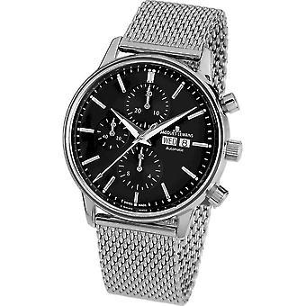جاك Lemans -- ساعة اليد -- رجال -- ريترو كلاسيك فالجو التلقائي -- N - 208C