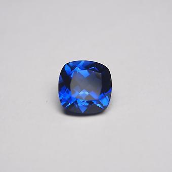 Royal Cushion Cut Corundum Blue Sapphire Stone