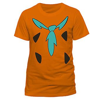 The Flintstones Adults Unisex Adults Fred Costume T-Shirt