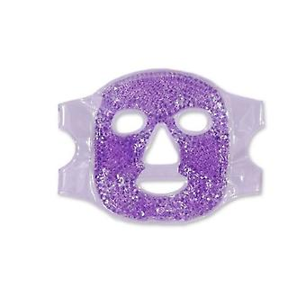 Gel Bead Mask Hot/cold Facial Beauty Mask, Używany do Puffy Eyes, Migrena, Pain Relief, Wielokrotnego użytku,2szt