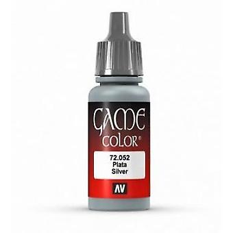Vallejo Game Color 17ml Acrylic Paint 52 Mithril silver