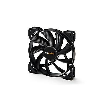 Bequiet! 120mm fan pure wings 2 pwm, rifle bearing, black, silent cooling, 20.2 db, recommended for