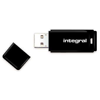 Integral 128gb usb memory 2.0 flash drive black 128 gb