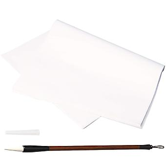 Kuou 60 sheets chinese japanese calligraphy rice paper chinese ink painting sumi drawing paper pract