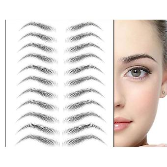 Autocolant Bionic Brow Semi-permanent de transfer de apă impermeabil Tattoo Eye (01)
