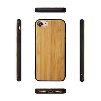 Kuvioitu puukuorikotelo Samsung Galaxy S7 Edgelle - Bambu