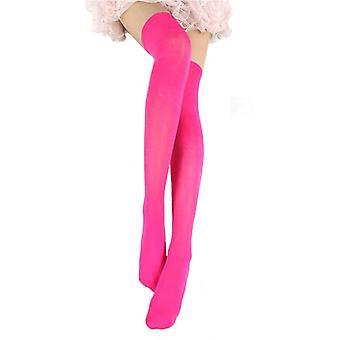Szexi meleg comb magas harisnya több mint térd zokni Velvet Stretch Temptation