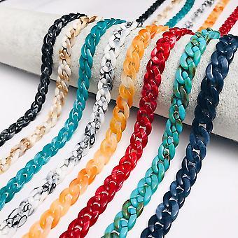 Chic Women Lanyard Sunglasses Chain Acrylic Reading Glasses Hanging Neck Cords