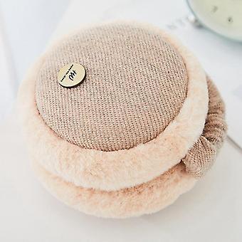 Earflap pieghevole regolabile Peloso Morbido Inverno Ear-warmers / ragazze