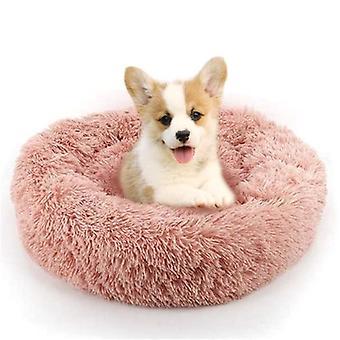 Soft Shag, Plush Cushion, Donut Bed For Dog, Cat