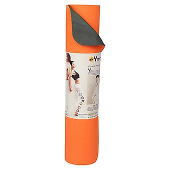 Yogamasti Practice Sticky Yoga Mat 6mm - Orange/Olive