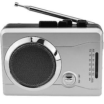 Συσκευή αναπαραγωγής κασέτας ραδιοφώνου τσέπης Am/fm, φορητός προσωπικός ήχος φωνής