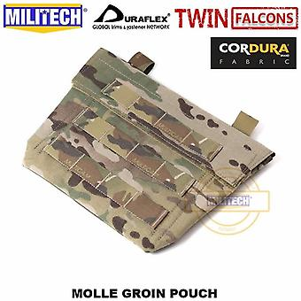 Tw 500d Delustered Cordura Molle Groin Poche