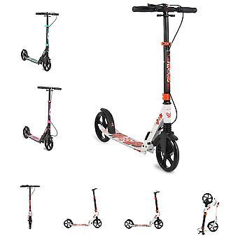 Byox Kinderroller Spooky klappbar, bis 100 kg, Bremse, Stoßdämpfer vorne, ABEC-7