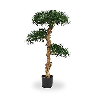 Keinotekoinen Podocarpus Bonsai 120 cm