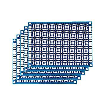 Kaksipuolinen prototyyppi pcb-levy, universaali painettu piiri Arduinolle