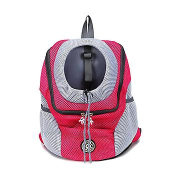 Portable Travel Front Mesh Outdoor Hiking Head Out Double Shoulder Sports Sling