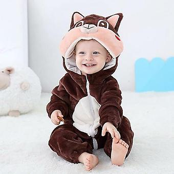 Baby Rompers Toddler Animal Jumpsuit Infant Clothes Pyjamas Kids