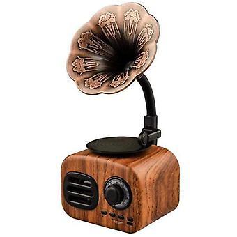 Retro Radio Wireless Mini Portable Bluetooth Stereo Speaker