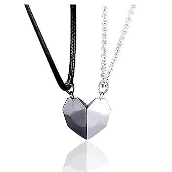 Magnetic Couple Necklace Lovers Heart