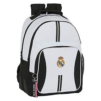 Sac d'école Real Madrid C.F. White Black