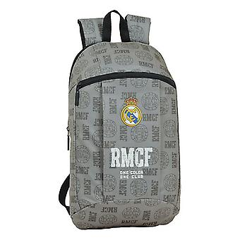 Casual Backpack Real Madrid C.F. Grey