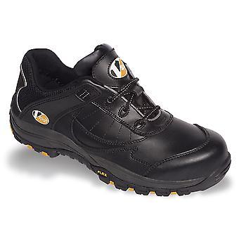 V12 VS600 Slam Black Trainer Shoe EN20345:2011-S1P Size 5