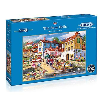 Gibsons The Four Bells 1000pc Puzzle