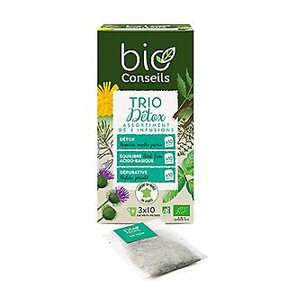 Organic Detox Trio Infusion 30 packets