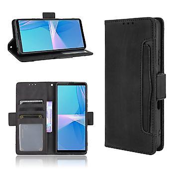Obudowa na portfel Sony Xperia 10 III - czarna