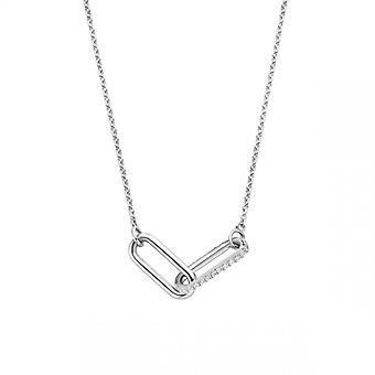 Naisten kaulakoru Ti Sento Jewelry 3966ZI - Hopea
