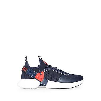 Bikkembergs - Shoes - Sneakers - GREGG-B4BKM0045-410 - Men - navy,red - EU 41