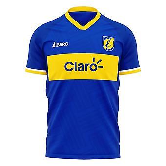 Everton de Chile 2020-2021 Home Concept Shirt (Libero)