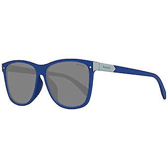 Polaroid PLD 6035/F/S M9 PJP 58 Sunglasses, Blue (Bluette/Grey Grey), Unisex-Adult