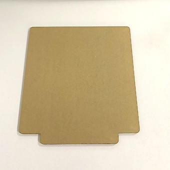 Hoja de acrílico transparente para la luz de mesa base de luz en blanco