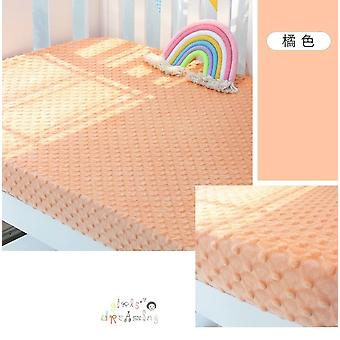 Baby Fitted Bed Sheet, Cotton Thickening Sheet