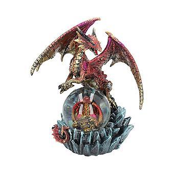 Ruby Oracle Dragon Beeldje