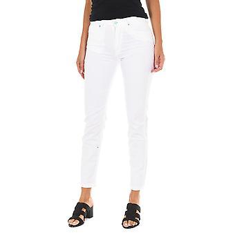 MET pantalones de mujer Nebraska blanco